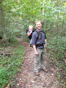 Eli & Dave Hiking in Mammoth Cave National Park