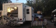 Our narrow site at Two Rivers RV Park (Nashville, TN)